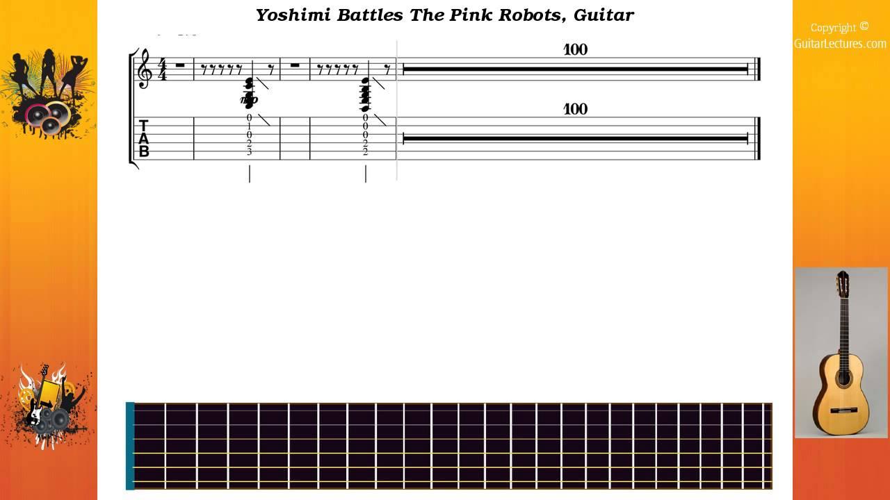 Yoshimi Battles The Pink Robots   Flaming Lips The   Guitar