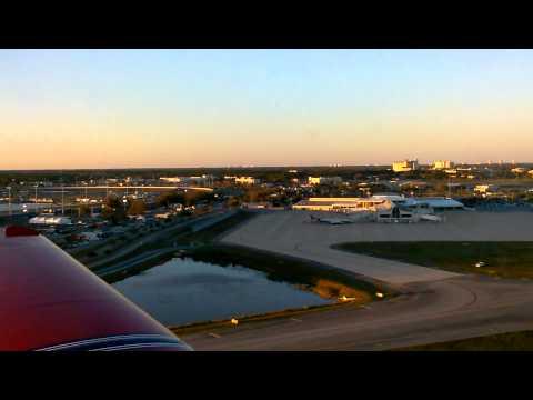 Grumman AA-1 Yankee Touch & Go @ Daytona KDAB