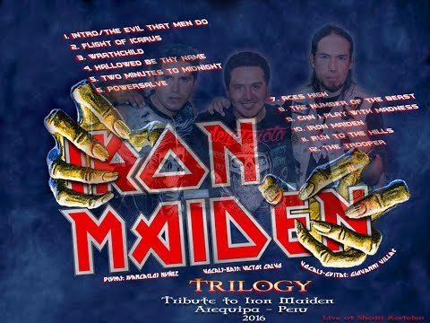 TRILOGY   Tribute Live to Iron Maiden (Arequipa-Peru 2016)