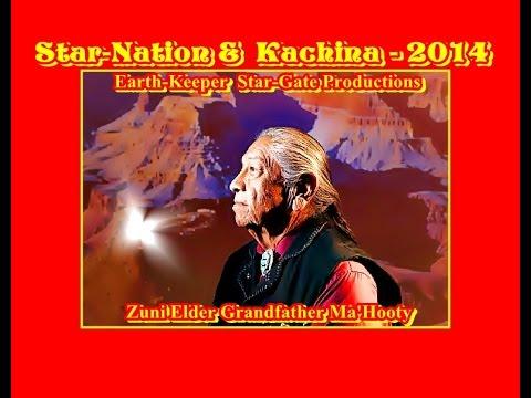Earth-Keeper 2014 Presents Zuni Elder Grandfather Ma'Hooty - ET & Kachina