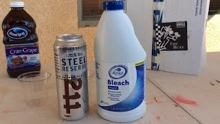 What Will Happen If You Mix Beer and Bleach?
