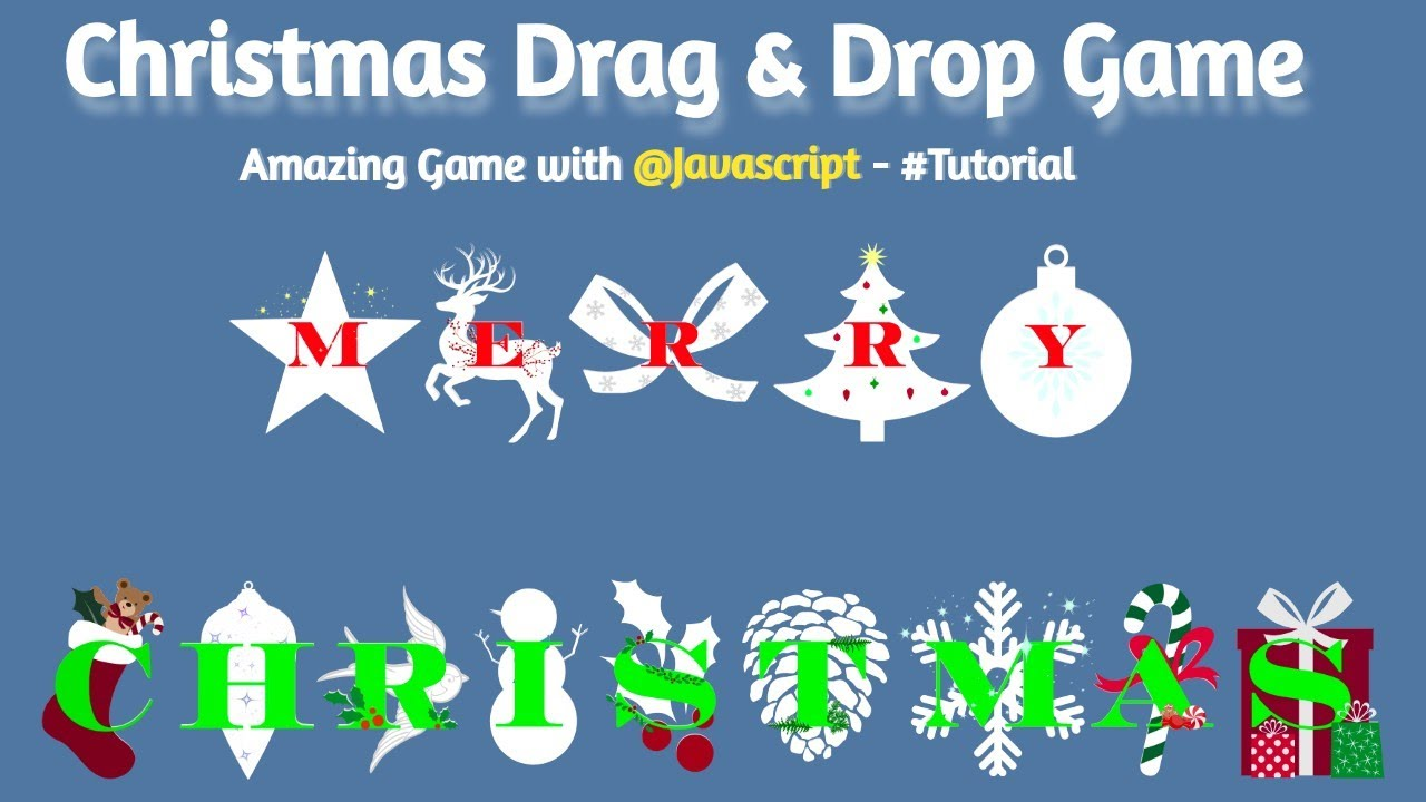 Text Animation Drag & Drop Game with HTML | CSS | JavaScript