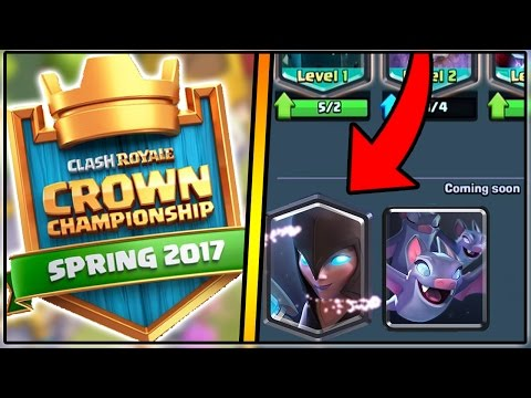 CLASH ROYALE CROWN CHAMPIONSHIP DECK | NEW NIGHT WITCH & BEST DECK!