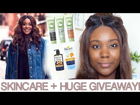 VLOG #2: Skin Care Routine for Oily/Dry Skin Fade Dark Marks & Acne Scars +  NYC Vlog Life