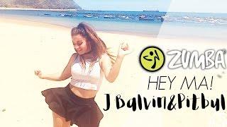 ZUMBA Hey Ma - J Balvin ft. Pitbull / Zumba® Fitness Choreo