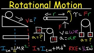 Video Torque, Moment of Inertia, Rotational Kinetic Energy, Pulley, Incline, Angular Acceleration, Physics download MP3, 3GP, MP4, WEBM, AVI, FLV Agustus 2018