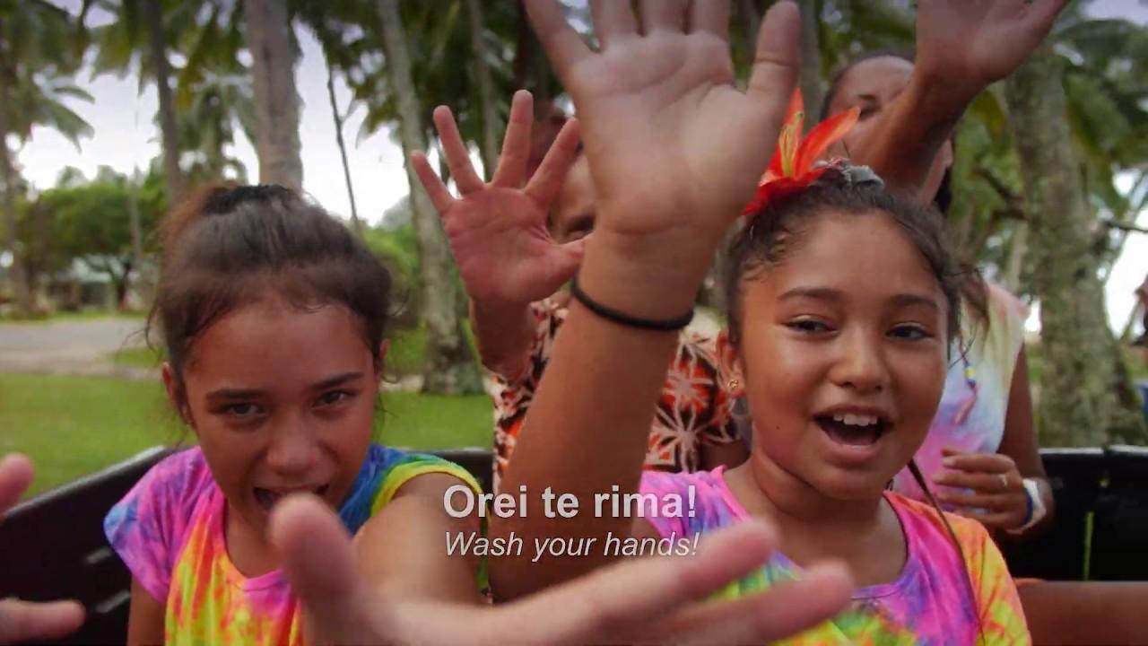 手を洗おう♪ コロナ下で生まれたクック諸島マオリ語の歌