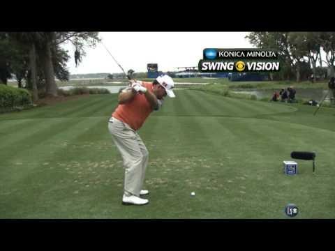 [HD] Graeme McDowell 8-Iron Swing Vision @ 2013 RBC Heritage