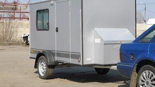 Самодельный автодом своими руками, автодом для путешествий (camper travel trailer)