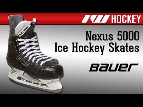 Bauer Nexus 5000 Ice Hockey Skate Review - YouTube