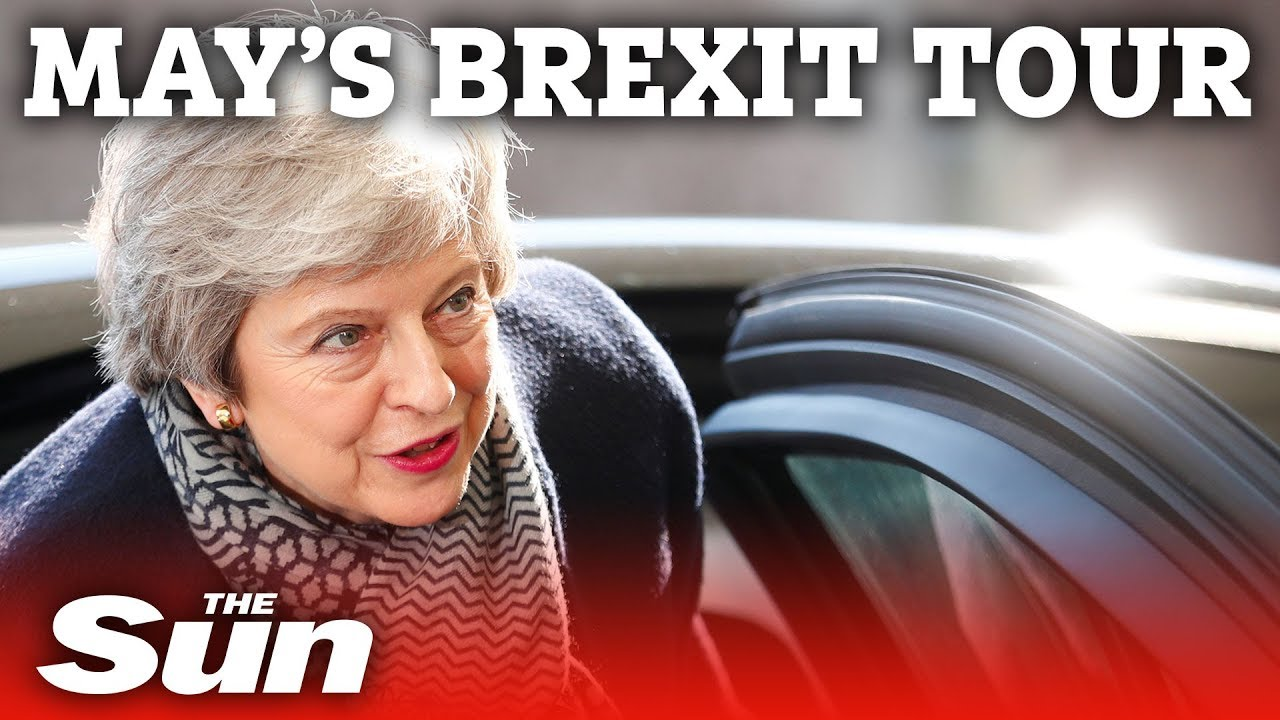 Theresa May's Brexit tour in under three minutes