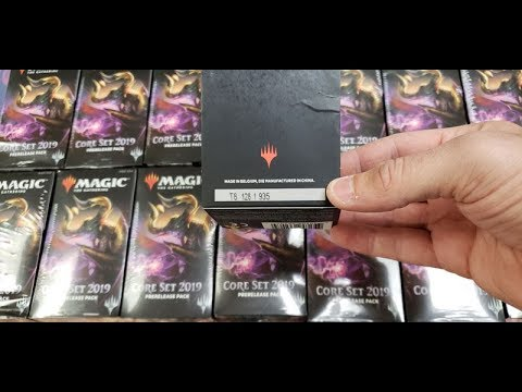 Magic Stores Re-Sealing ALL The Pre-Release Kits And Hosing Players
