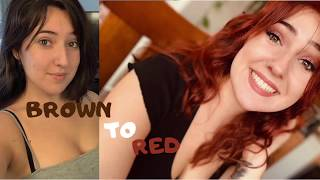 BROWN TO RED HAIR/ ION 7RR