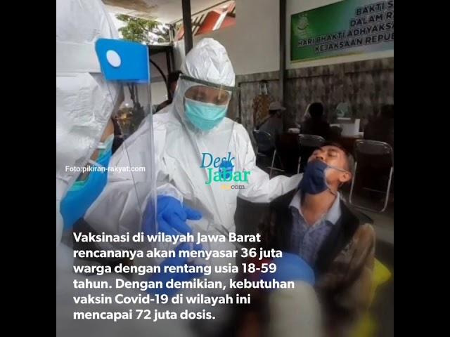 Jawa Barat Butuh 72 Juta Dosis Vaksin Corona