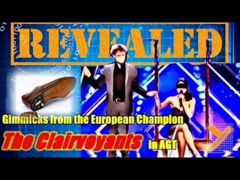 Reveal: The Clairvoyants (Phone/Lipstick/Eye Drop Trick) in AGT 2016 Audition (Thommy & Amelie)