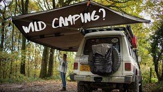 Wild Camping? 4x4 Adveฑture UK