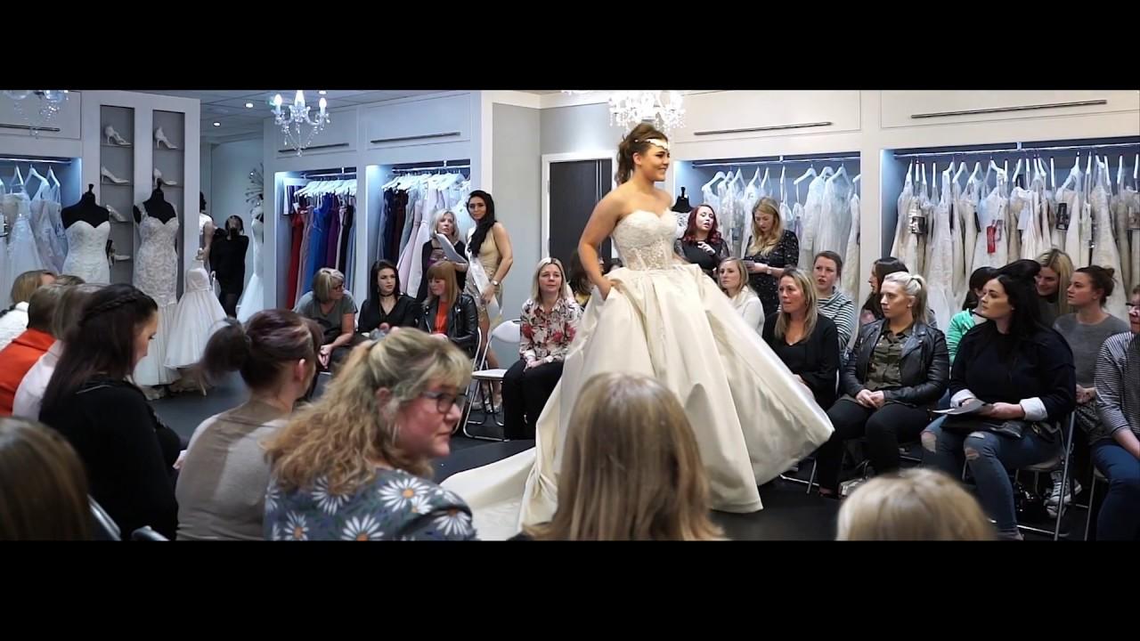 Catwalk at Serenity Brides Colchester Wedding Dresses - YouTube