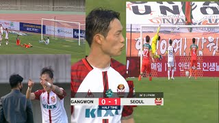[Highlight] K-League : Gangwon vs Seoul - Half Time - untuk.us
