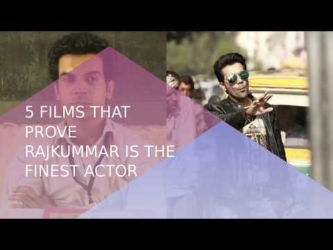 Rajkummar Rao Birthday Special: 5 Films That Prove He`s The Finest Actor | ABP News