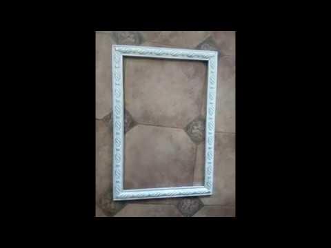 Как сделать рамку для фото зеркала или картины.