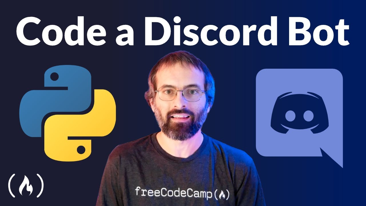Code a Discord Bot with Python - Host for Free in the Cloud