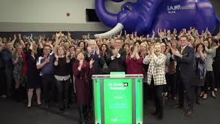 iA Financials Opens Toronto Stock Exchange, February 6 2020