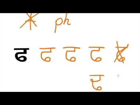 how to write gurmukhi alphabet