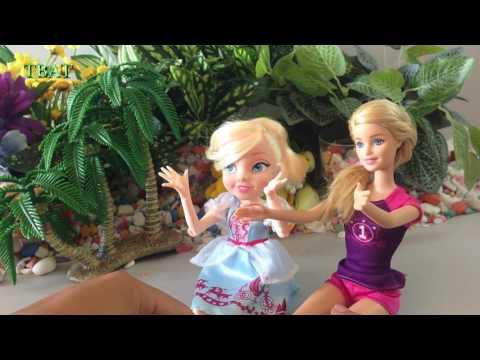 Cinderella Doll | Soccer Player | Scientist | Barbie Girl Dolls - TBAT