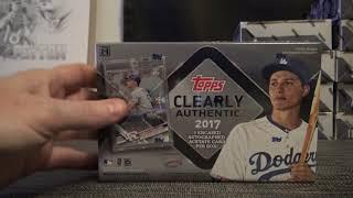 Robbase's 2017 Topps Clearly Authentic Baseball Box Break