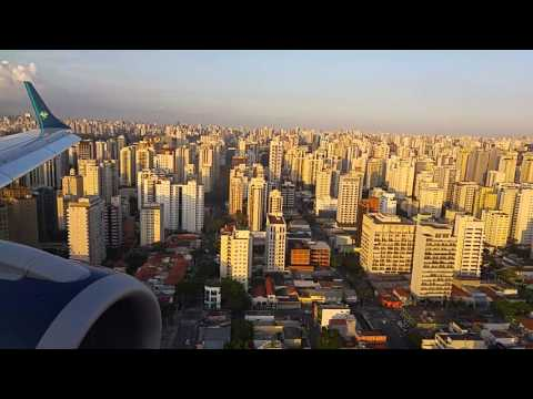 Beautiful landing at Sao paulo - Congonhas airport