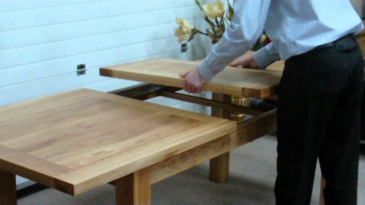 How To Extend A Middle Extension Table With Metal Runners