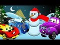 Christmas! Cartoon Serials about Cars and their Friends. Santa Claus will come!