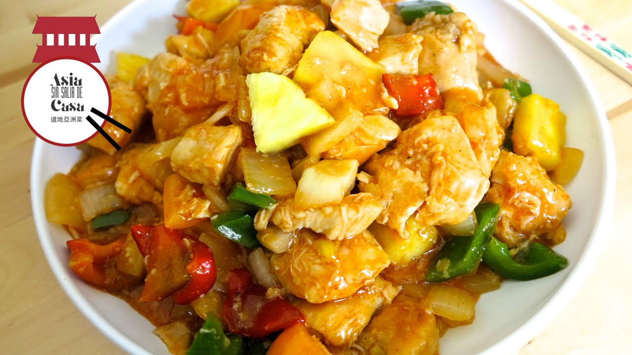 Sweet and Sour Pork with Pineapple (Gu Lao Rou) Recipe |Guangdong Sweet And Sour Pork