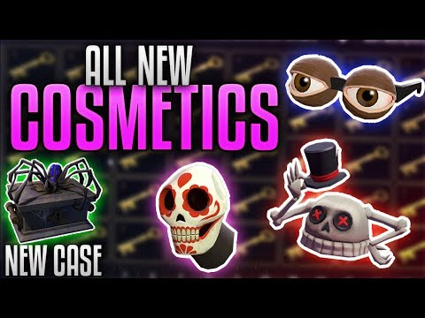 [TF2] ALL NEW SCREAM FORTRESS COSMETICS!! - Spooky Spoils Case