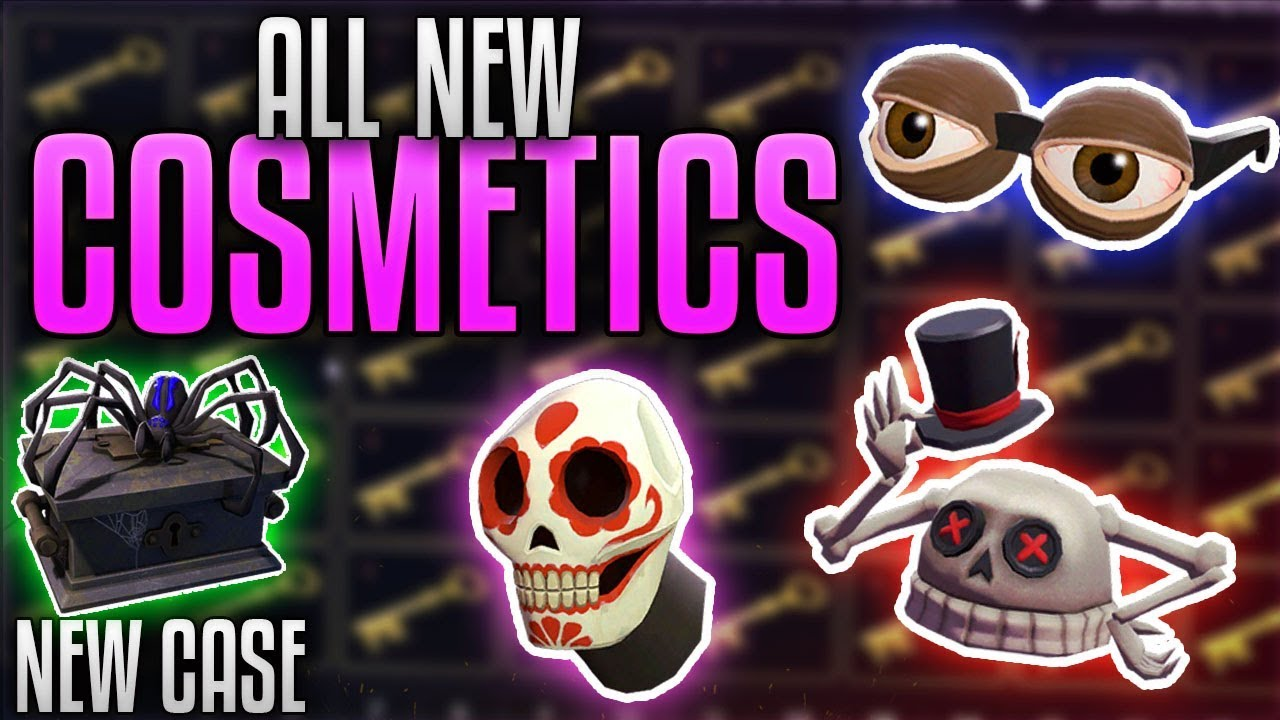 Tf2 New Cosmetics 2020 Halloween TF2] ALL NEW SCREAM FORTRESS COSMETICS!!   Spooky Spoils Case