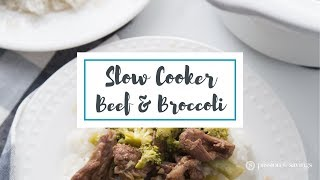 How to Make Slow Cooker Beef & Broccoli!