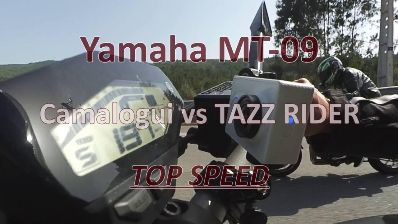 Yamaha MT-09: TOP SPEED - ECU Flash - Akrapovic