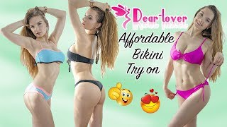 BIKINI FROM DEAR-LOVER TRY ON | REVIEW