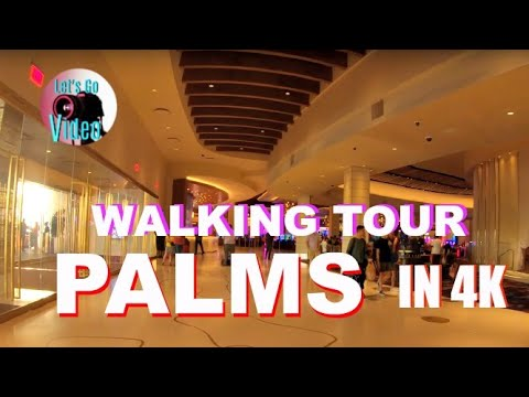 WALKING TOUR OF THE NEW PALMS CASINO FLOOR | LAS VEGAS USA IN 4K