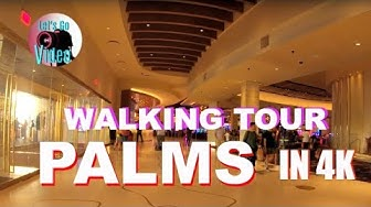 WALKING TOUR OF THE NEW PALMS CASINO FLOOR | LAS VEGAS USA IN 4K