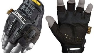 Видео обзор тактических перчаток без пальцев M-Pact Fingerless от