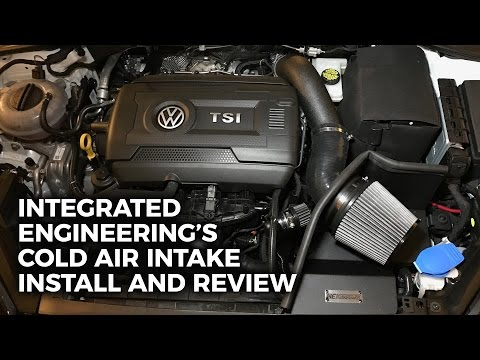 Integrated Engineering's Cold Air Intake Install and Review!