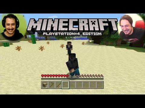 YEPYENİ BİR HAYAT   Minecraft Survival PS4 Türkçe Bölüm 1