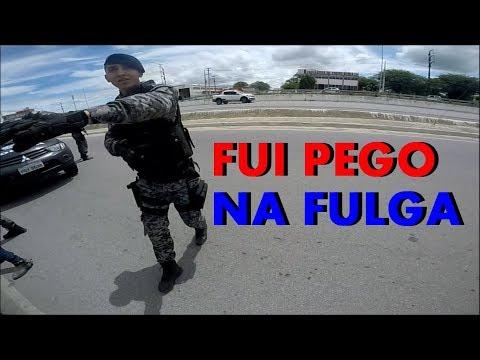 DEU ERRADO | FUGINDO DA POLICIA DE CB1000 PERSEGUIÇÃO ALUCINANTE