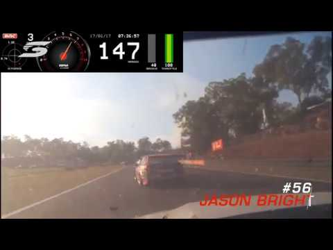 2017 Supercars - Hidden Valley Race 1 - Onboard Van Gisbergen, Tander & Bright Crash