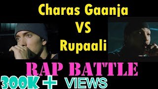 Charas Ganja VS Ae Rupali Song Funny Rap Battle | CarryMinati | Eminem [ ORIGINAL ]
