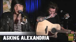 asking alexandria back in the black the black i won t give in