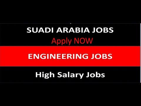 Engineering jobs in Saudi Arabia 2020 - 2021 ! #saudijobs