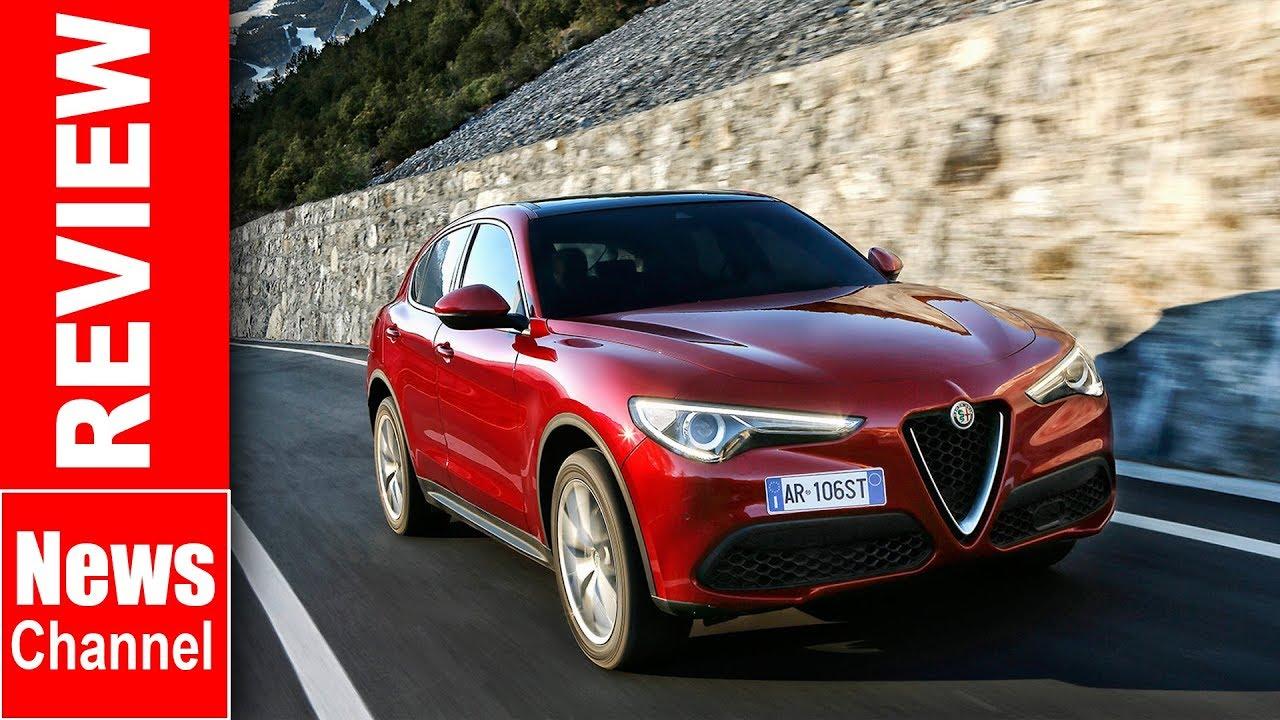 Alfa Romeo Stelvio 2 2 Td 210 Awd Speciale Uk 2017 Review Youtube