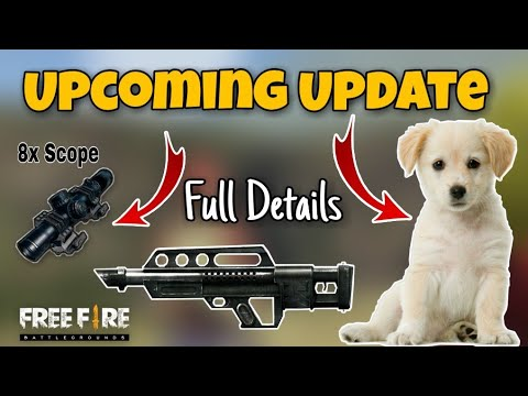 Freefire Upcoming  Update - 28 February | 8x Scope | Puppy | New Weapon | Map Rework | Free Gifts